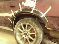轮子要掉了
