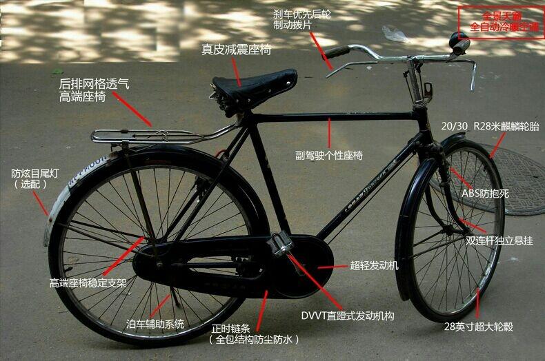 0讨厌 所有评论  1 妈蛋,明明是26寸的自行车,说的花一样,你脑子坏掉