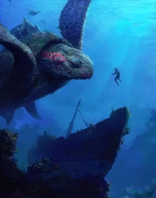 深海世界剪贴画